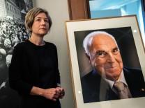 Maike Kohl-Richter: Wie eine Löwin vor der Höhle