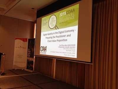 CDAA 2015 Digital Identity with Sue Ellson