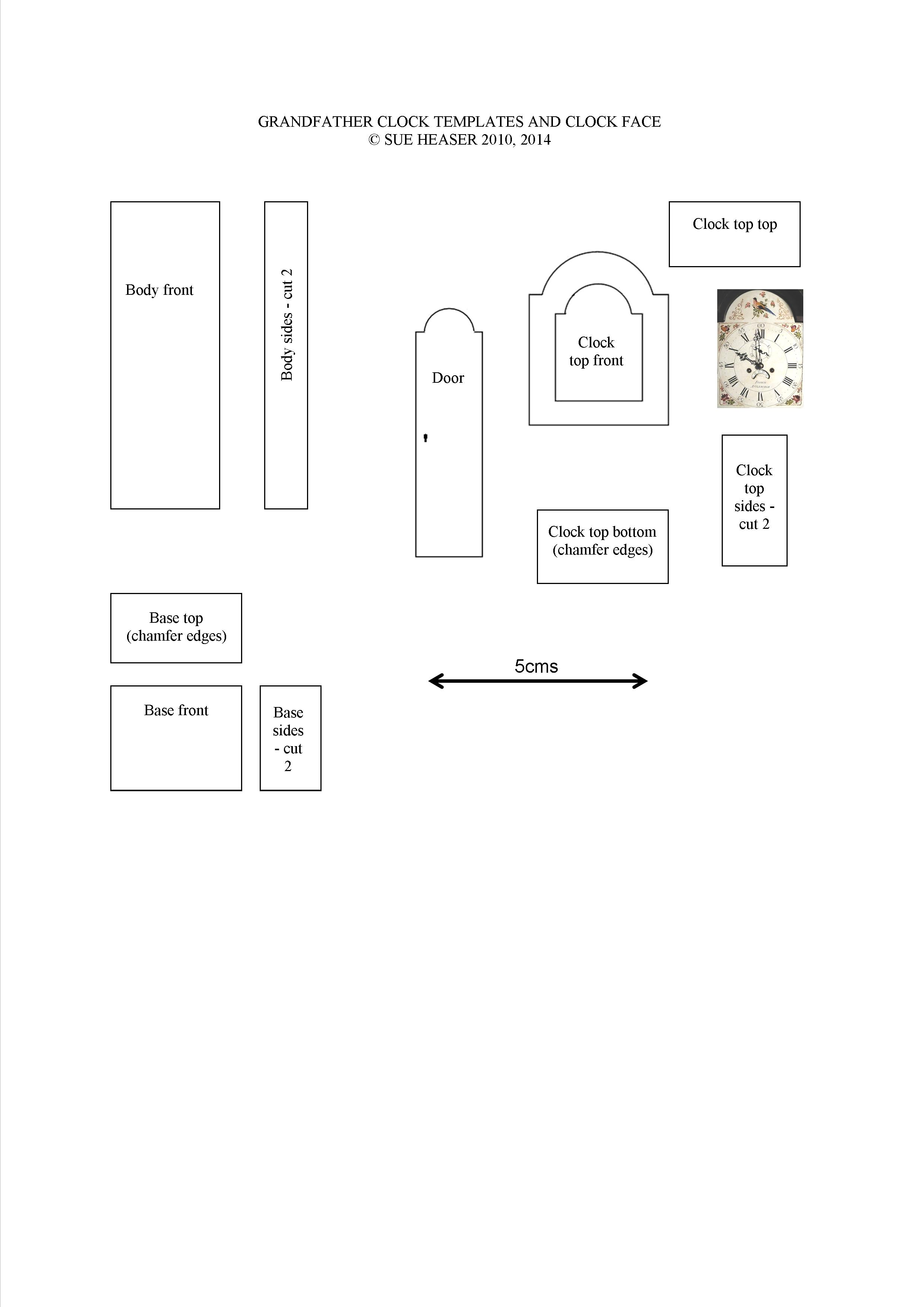 Templates For Miniature Projects