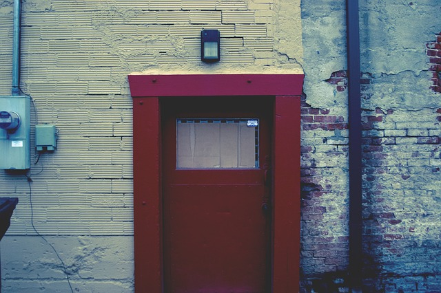 The Blessing Behind the Red Door