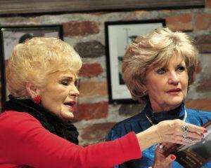 Suellen and  Kaye Bain
