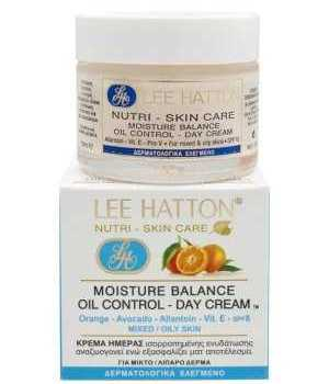 Κρέμα Ημέρας Ισορροπημένης ενυδάτωσης για λιπαρό και μεικτό δέρμα Lee Hatton