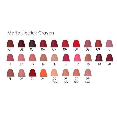 Matte lipstick Crayon Golden Rose Κραγιόν Μολύβι