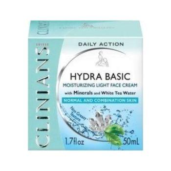 Clinians Hydra Basic Face Cream Ενυδατική Κρέμα Ημέρας 50ml