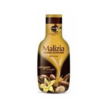 Αφρόλουτρο Malizia Bagno Schiuma με Argan Oil & Vaniglia 1lit