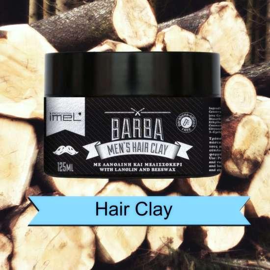 Πάστα Μαλλιών - πηλός BARBA - Men's Hair Clay