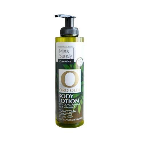 Oro Olea Natural Body Lotion Λάδι Ελιάς Αμυγδαλέλαιο & Βιταμίνη Ε 250ml
