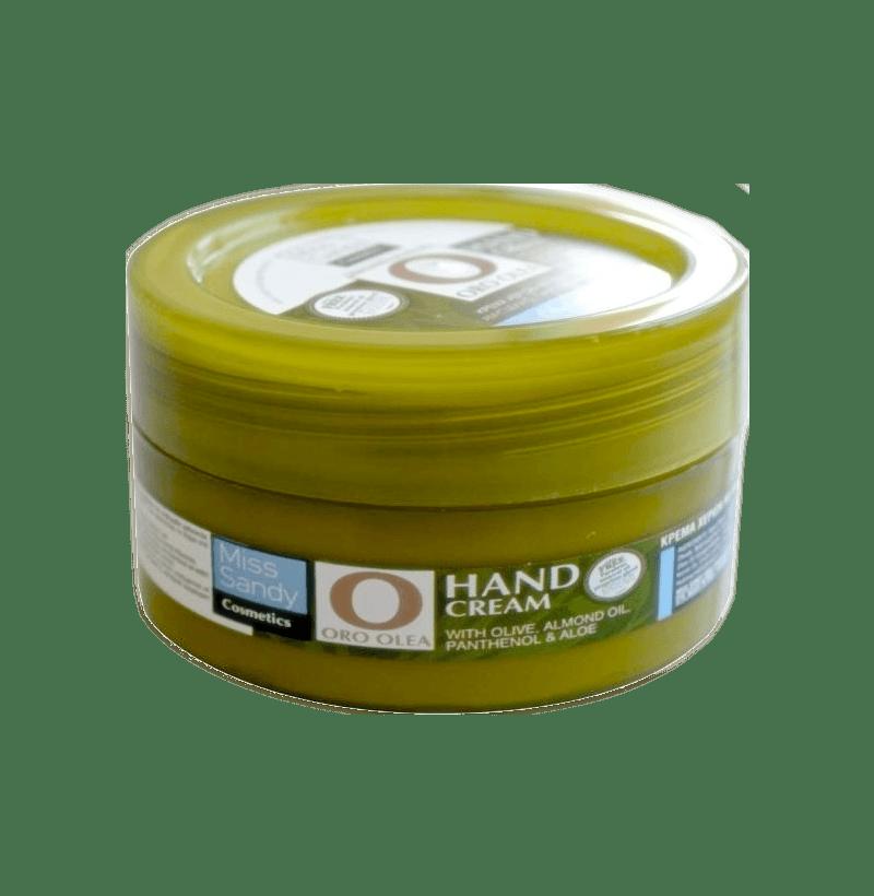Oro Olea Κρέμα χεριών με Λάδι Ελιάς, Αμυγδαλέλαιο πανθενόλη & Αλόη