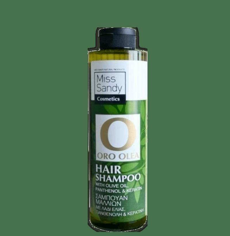 Oro Olea Hair Shampoo Λάδι Ελιάς, πανθενόλη και κερατίνη