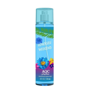 Body Mist 236ml Spray Honolulu Weekend - AQC fragrances