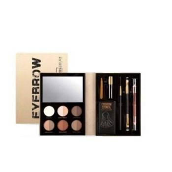 IDC Color Eyebrow Beauty Book 20.4gr & Case