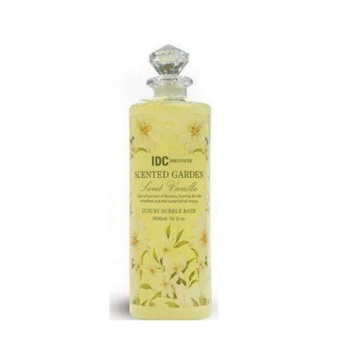 IDC Scented Garden Luxury Bubble Bath Sweet Vanilla 1lit