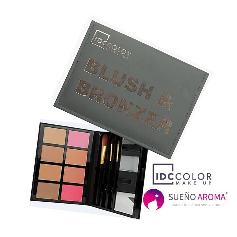 IDC Color Blush & Bronzer Make up set (Book)