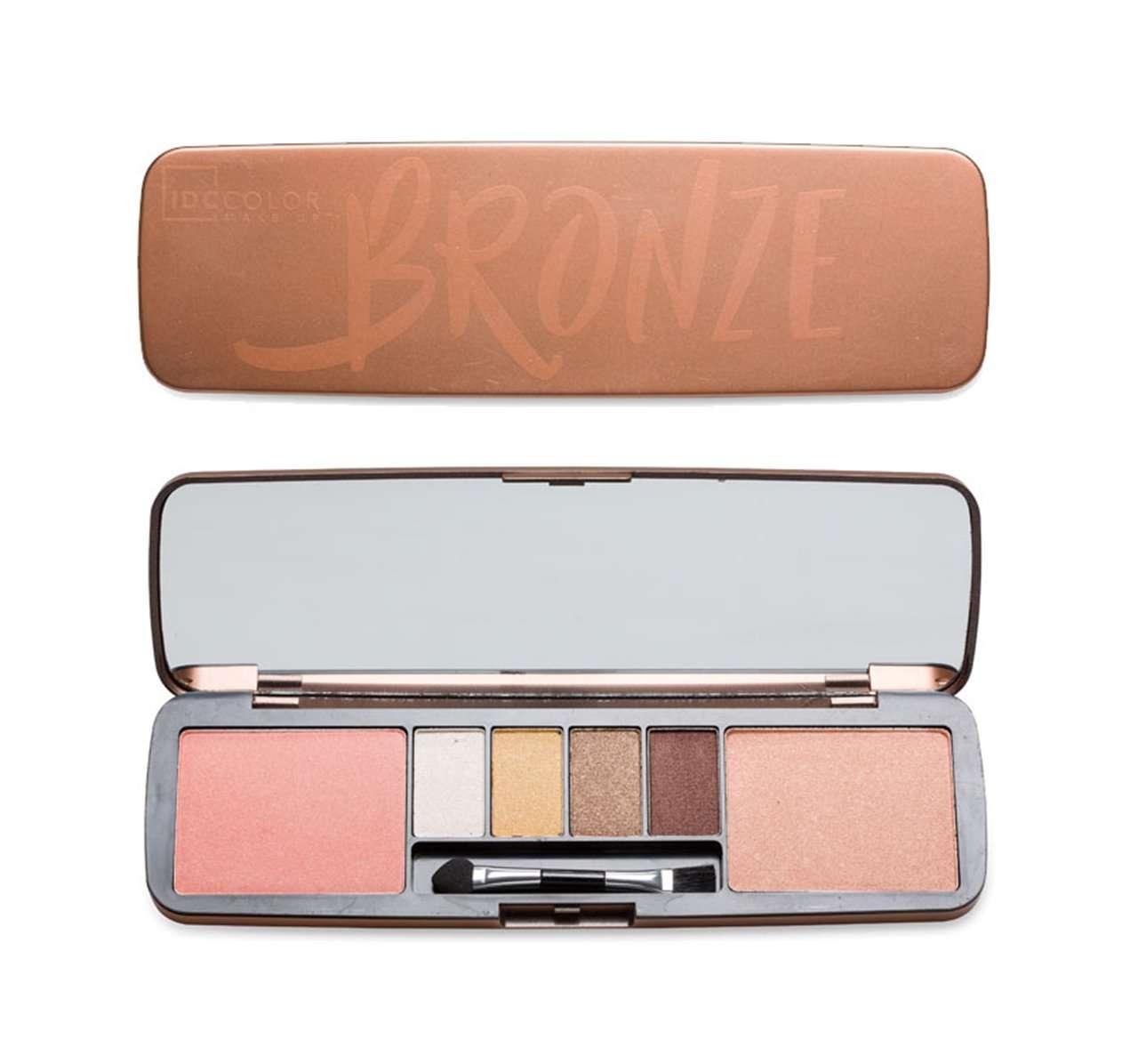 Παλέτα Μακιγιάζ IDC Color Bronze Tin Face