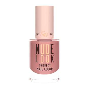 Golden Rose NUDE Look Perfect Nail Color 04 Coral Nude