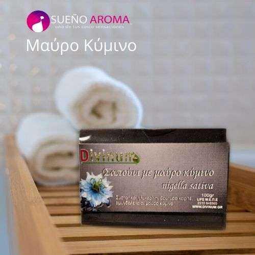 Χειροποίητo Αντιμικροβιακό Σαπούνι Divinum Μαύρο Κύμινο 100ml