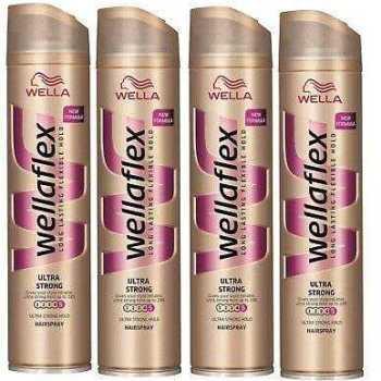 Wellaflex Hair Spray Ultra Strong Hold Λακ 5άρα Πολύ Δυνατό κράτημα 250ml