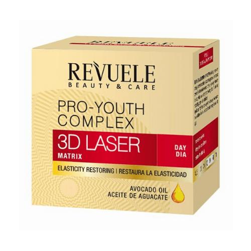 Κρέμα Προσώπου Ημέρας REVUELE 3D Laser Pro-Youth Complex