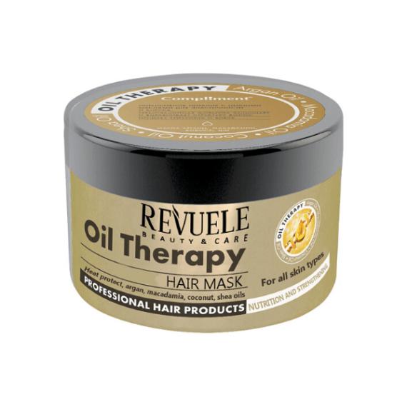 Μάσκα Μαλλιών REVUELE Oil Therapy Θρέψη - Ενδυνάμωση