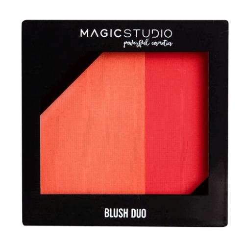 Παλέτα Ρουζ Blush Duo Magic Studio - Intense Colors