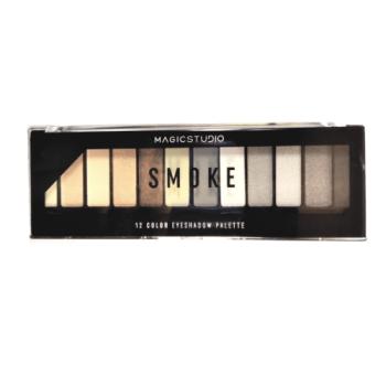 Παλέτα σκιών 12 Smoke Colors Magic Studio IDC