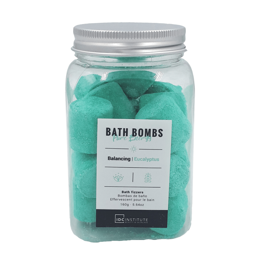 Bath Bombs Bottle Pure Energy Idc - Eucalyptus