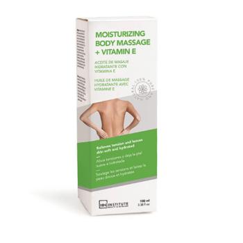 Body Oil Σώματος Moisturizing Body Massage + Vitamin E IDC 100ml