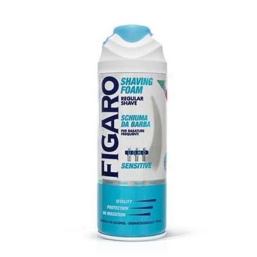 Figaro αφρός ξυρίσματος Regular Shave Sensitive 400ml (Για Ευαίσθητο Δέρμα)