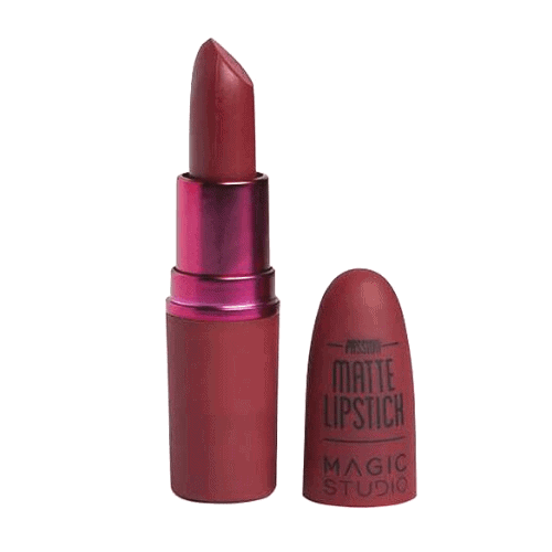Matte Lipstick Nudes to Passion - Red Bordeaux της IDC