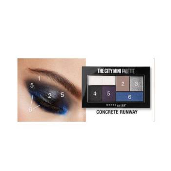 Maybelline The City Mini Palette Concrete Runaway Σκιές 6col
