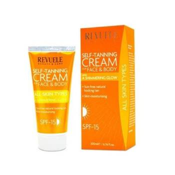 Revuele Self Tanning Cream Στιγμιαίο Μαύρισμα Πρόσωπο & Σώμα All Skin