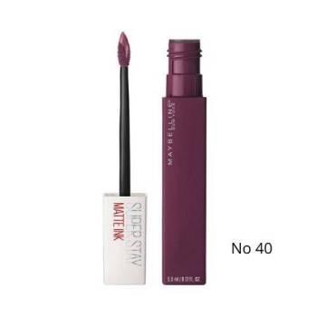 Maybelline Superstay Matte Ink Liquid Lipstick Κραγιόν 5ml Νο 40 Believer