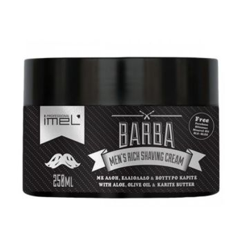 Barba ImeL Men's Rich Shaving Cream Κρέμα Ξυρίσματος 250ml