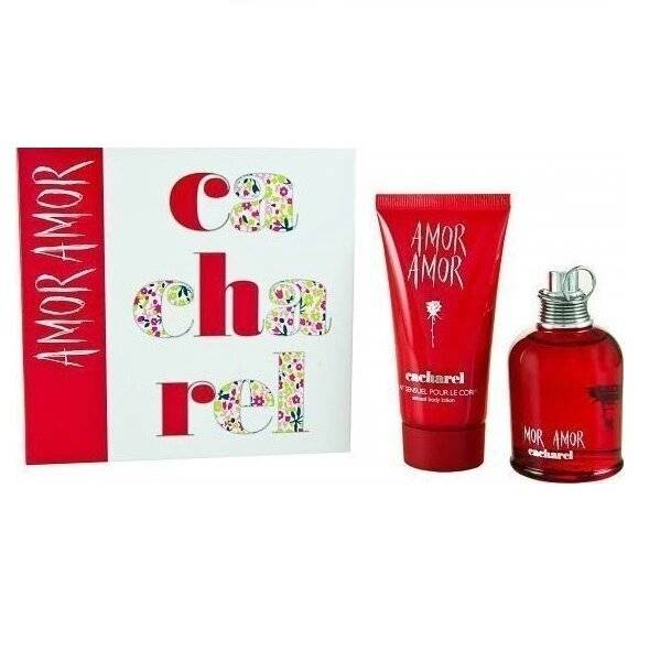Cacharel Amor Amor Women Gift Set - Άρωμα EDT 50ml, Γαλάκτωμα 50ml