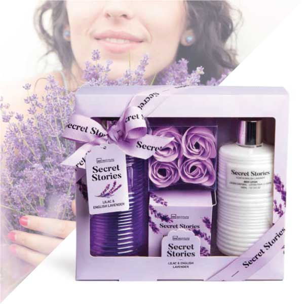 IDC Institute Secret Stories Lilac & Lavender Σετ Δώρου