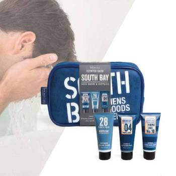 IDC South Bay Gift set After Shave Balm 100ml Hair & Body Wash 100ml Shaving Cream 100ml