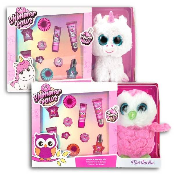 Martinelia Shimmer Paws Teddy & Beauty Set 30 x 20 x 9 cm