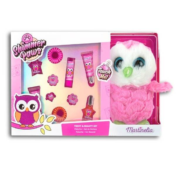 Martinelia Owl Shimmer Paws Teddy & Beauty Set 30 x 20 x 9 cm