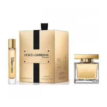 DOLCE & GABBANA Σετ Δώρου Γυναικείο The one Άρωμα 50ml Eau De Parfum Spray + 7,4ml Άρωμα 50ml Eau De Parfum Spray (2)