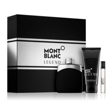Mont Blanc Legend Gift Set Men Άρωμα EDT 100ml + After Shave Balm 100ml & Miniature Άρωμα EDT 7,5ml