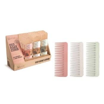 IDC Eco Rake Hair Comb Easy Detangling Χτένα Μαλλιών Εύκαμπτη 100% ανακυκλώσιμη 30gr Green