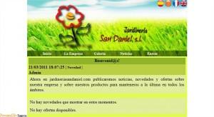 Jardinería San Daniel - Portada