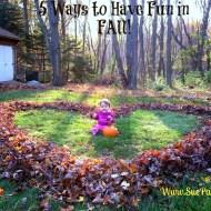 5 Ways to Have Fun in Fall