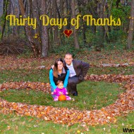 Thirty Days of Thanks + Link up & Blog Hop