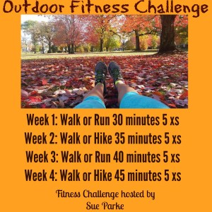 30 Days of Thanks Outdoor Fitness Challenge