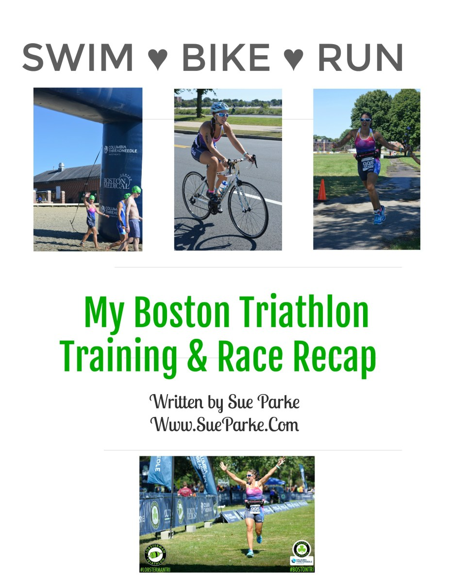 Swim, Bike, Run - My Boston Triathlon Training & Race Recap