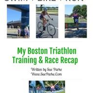 Swim, Bike, Run – My Boston Triathlon Training & Race Recap