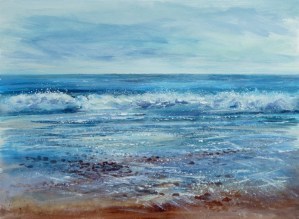 Seascape Gentle Tide giclee print
