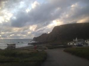 Evening light, northcott mouth