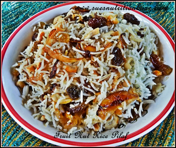 Festive Fruit Nut Rice Pilaf To Spruce Up Your Table